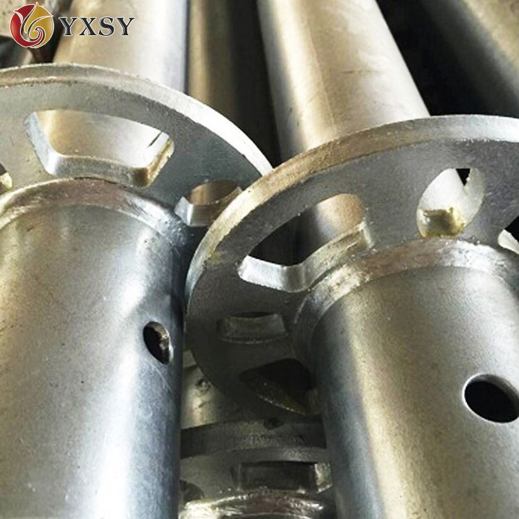 Easy to install ringlock scaffold/scaffolding steel pipe unit weight