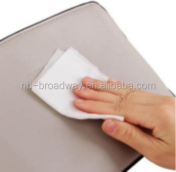 AMAZON CHINA ADULT DISPOSABLE NON WOVEN AUTO CAR INTERIOR LEATHER PU SHOE CLEAN YES ALCOHOL FREE WET WIPE TISSUE CLOTH