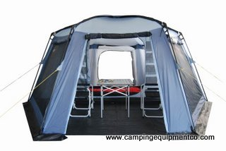 Hex 3 Person Screen House Camping Tent Huge Rooms NEW
