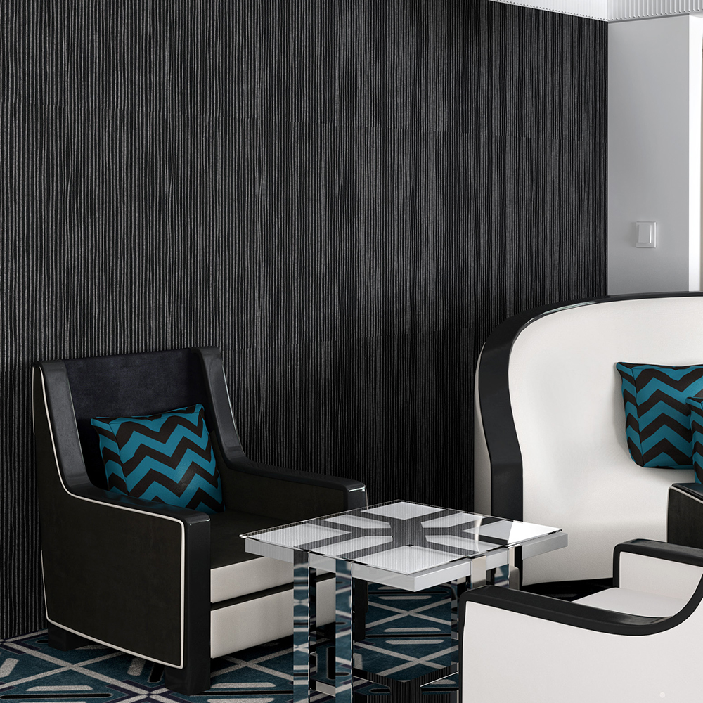 hotel room decorate solid commercial vinyl wallcoverings