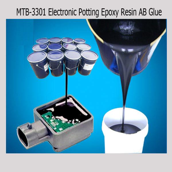 Epoxy resin AB Glue for electronic components Encapsulation/Potting, View  black electronics potting adhesive, MTBJZJ Product Details from Shenzhen