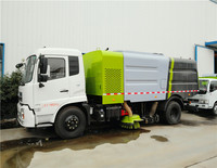 Hot sale Dongfeng small street / vacuum road /sweeping truck swifter sweeper