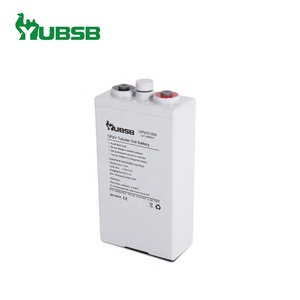 Guangzhou battery supplier rechargeable OPzV 2V 200Ah solar battery