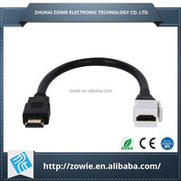 Multi Function Keystone Type HDMI Female Head hdmi Extension Cable