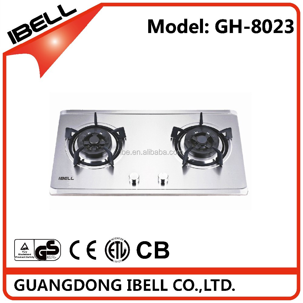 Good quality Chinese supplier 2 burners gas heater cooker