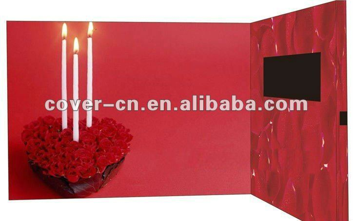 Happy Birthday Video Greeting Card As Promotion Gifts Buy Birthday