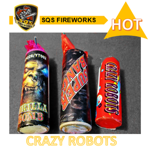Buy no stick rocket fireworks crazy colorful plastic rocket fireworks for sale