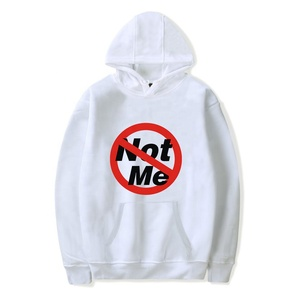 not me blank high quality hoodies custom breathable hoodies for men and women hip hop