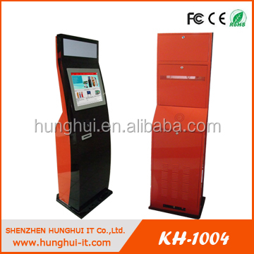 Self-service Touchscreen Passbook Printing Machine With Barcode ...