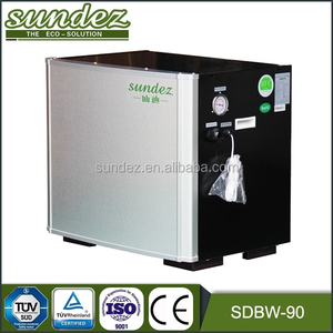 High quality water source heat pump water heating solar heating hot water system