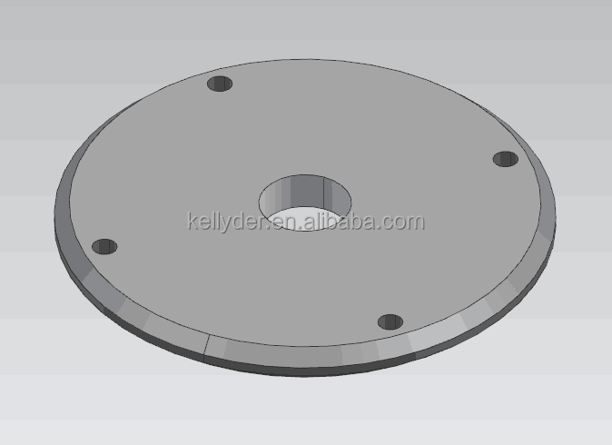 Almg3 CNC bottom parts with Power coated
