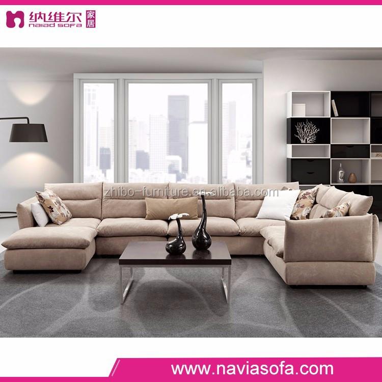 Muebles de sala de espalda en forma de l sofá de la esquina set ...