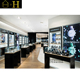 luxury watch display cabinet for wrist watch store interior design