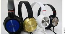 High quality Stereo Bass Over Ear Headphones Headset 3.5mm HIFI Fone de Ouvido Earphone For IPhone Samsung Sony MP3 Huawei