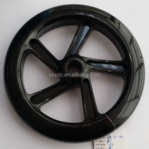 2015 Factory OEM Customized PP/PC/Metal Core 200mm PU Wheel Polyurethane Wheel Scooter Wheel Baby Stroller Wheel