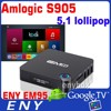 Amlogic android iptv set top box S905 Quad Core EM95 BT4.0 4K Android Tv Box