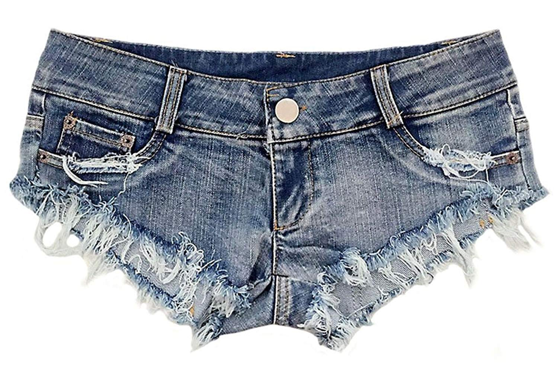 Summer Jeans Ripped Shorts Denim Short Women Mini Hot Low Waist Cheeky Jeans