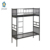 wholesale 250kgs weight support metal double bunk bed