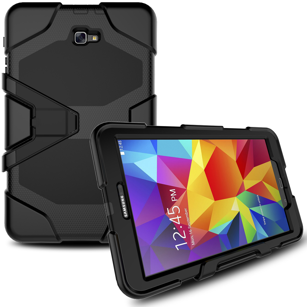 best service 11163 0c580 Heavy Duty Armor Case For Samsung Galaxy Tab A 10.1 T580 Case For 10.1 Inch  Tablet - Buy 10.1 Inch Tablet Case,Case For Samsung Galaxy Tab 10.1,Case ...