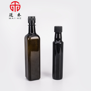 Bulk black plastic olive oil bottles for sale