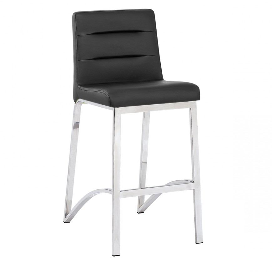 Fantastic Pu Cover Stainless Steel With Brushed Fix Four Legs Counter Height Fashion Kitchen Barstool Sy279 Buy Four Legs With Pu Cover Stainless Steel Dailytribune Chair Design For Home Dailytribuneorg