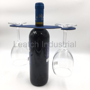 Stainless Steel Wine Cup Rack Holder With Silicone Cover Skid Resistance