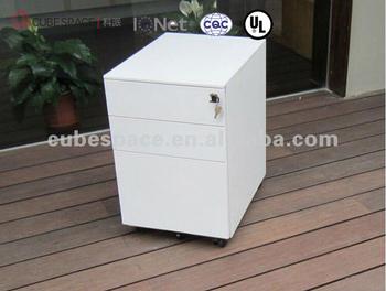 Office Furniture Storage Wood Metal Pedestal Cabinet