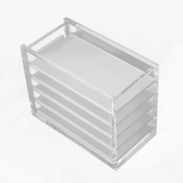 Wholesale clear acrylic <strong>retail</strong> shelf display box lash storage box