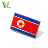 Custom professional Zinc Alloy Metal North Korea Country Flags for sale Metal Craft Pins button Badge