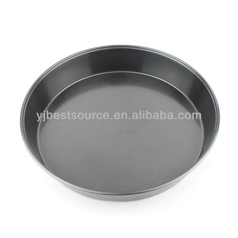 "9"" Non- stick Cabon Steel Round Pan Pizza Pan Baking Mold Cake Pan"