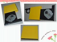 USB 2.0 external DVD Tray Load writer burner drive