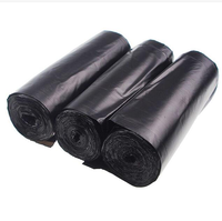 Heavy duty biodegradable black 30 rolls rubbish plastic garbage bag