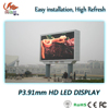 RGX full color video External led panel P3.91 with high definition