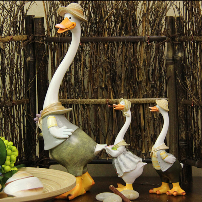 Duck Home Decor: Kawaii Home Decoration Gifts Duck Crafts Ducking Ornaments