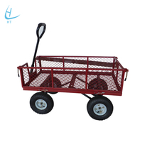 Free sample best quality 4 wheel folding beach wagon for sale
