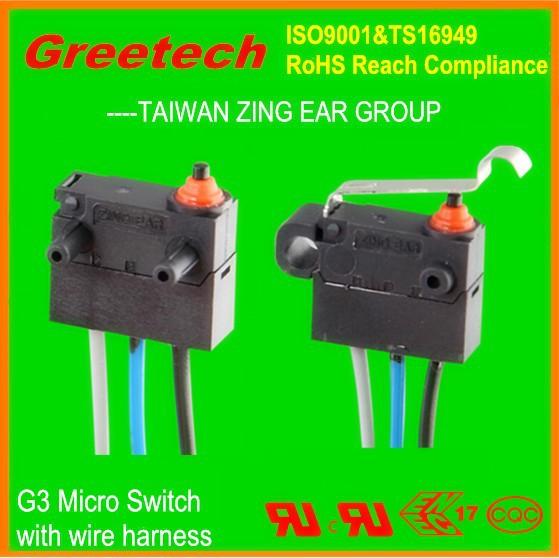 Zing Ear 40t85 Mini Waterproof Micro Switch Hook Lock Door