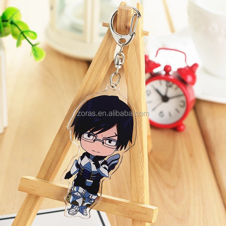Custom Design Bulk Cheap Price Acrylic Original Cartoon Character Double Printed Acrylic High-Definition Charms