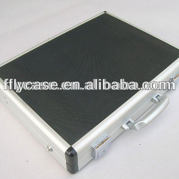 2015 Aluminum briefcase , notebook computer case ,Aluminum laptop case ,suitcase with safe locks