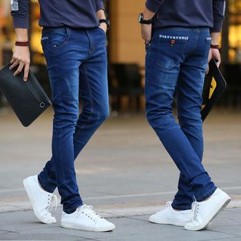 etiqueta estilo Pantalones Jeans sin Estilo Nuevo para hombres ikXOPZuT