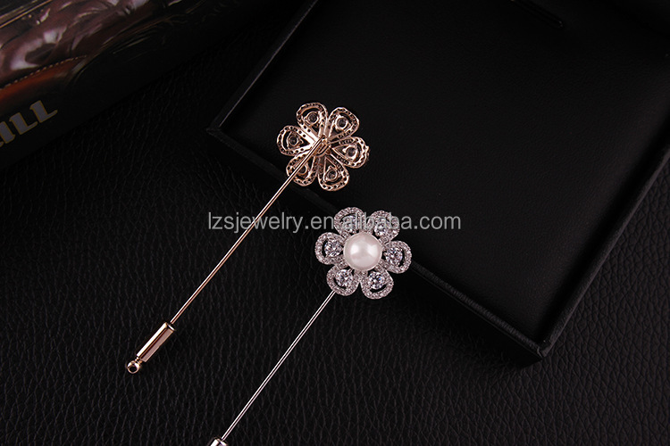 Delicate Top Sale Brooch Gold Men's Lapel Pin Widely used Women Scraf Pin