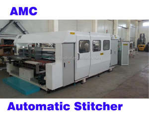Automatic corrugated box Stitching Machine for carton box (stitcher)
