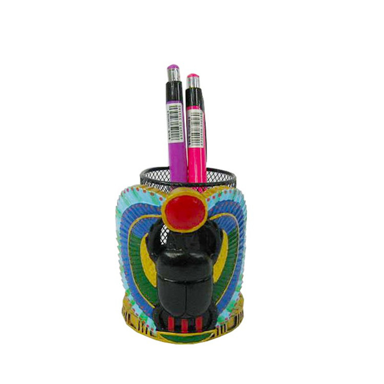 Customizable Resin Pen Holder Desktop Pen Holder For Gyptian Souvenirs