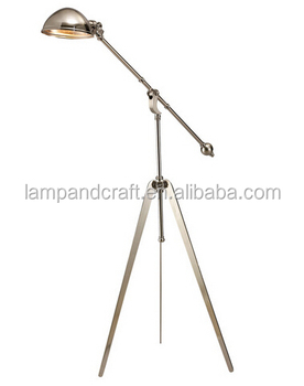 Saa Certification Morden Lamp Chrome Steel Tripod Floor Lamp With ...