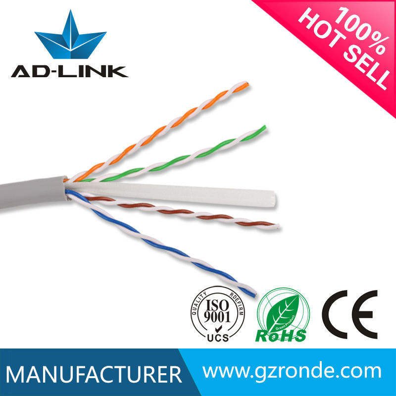 High quality bare copper fluke pass utp ftp stp sftp cat 6 lan cable