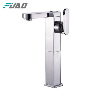 FUAO Hot selling European Style Copper Basin Mixer Tap