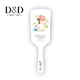 baby dye paddle hot straightener round hair brush mini mirror private label with high quality