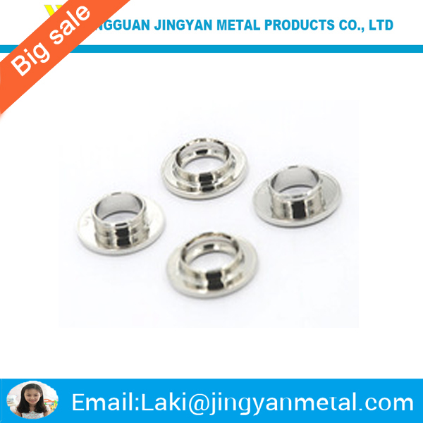 China manufacturer nickel plated brass grommets eyelets