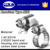 Adjust range11-20mm, Worm gear drive American Mini Hose Clamp
