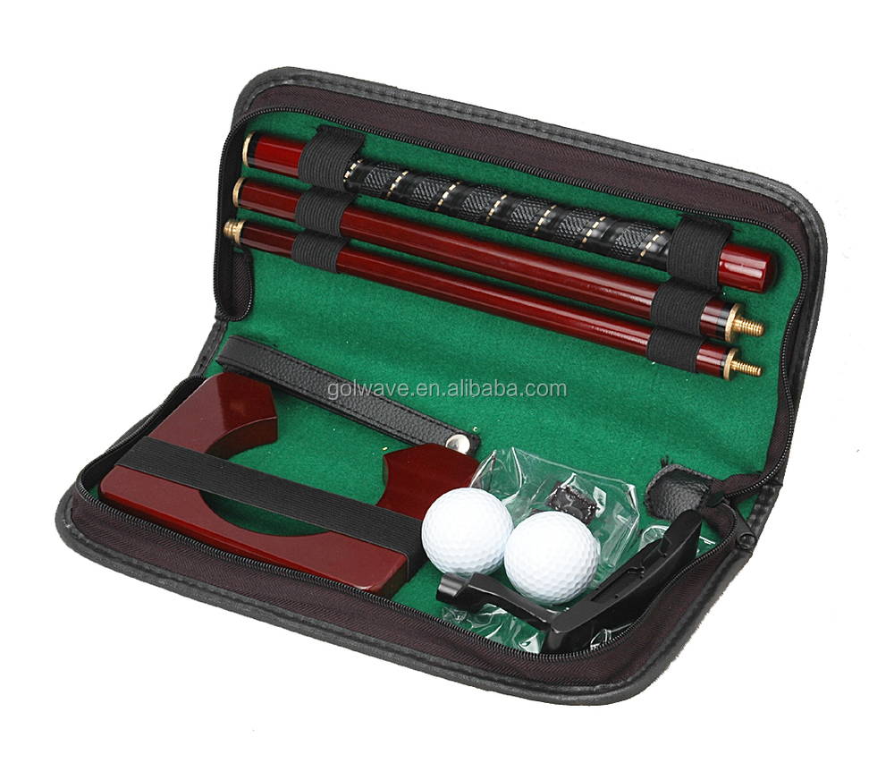 Indoor Golf Set Golf Putter Trainer Mini Caddy Set For Selling - Buy ...