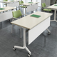 training room mobile metal folding table leg